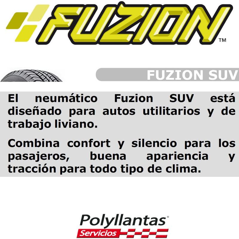 265-65 R17 Fuzion SUV