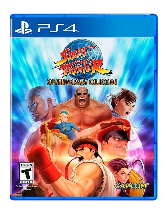 Street Fighter 30th Anniversary Ps4 Fisico Original Sellado