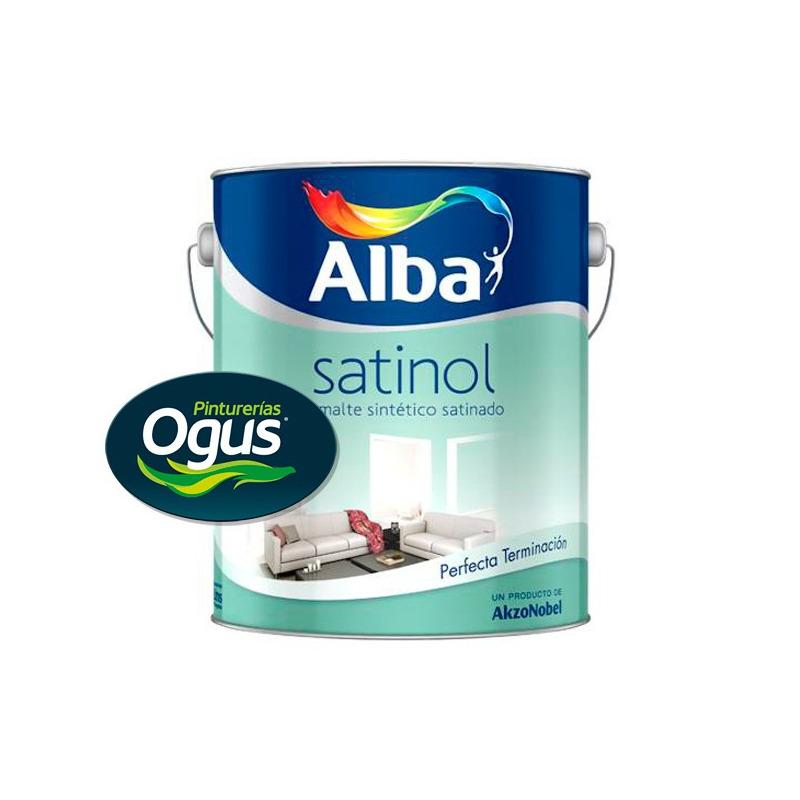 Satinol Esmalte Sintético Satinado Blanco X 4 Lts