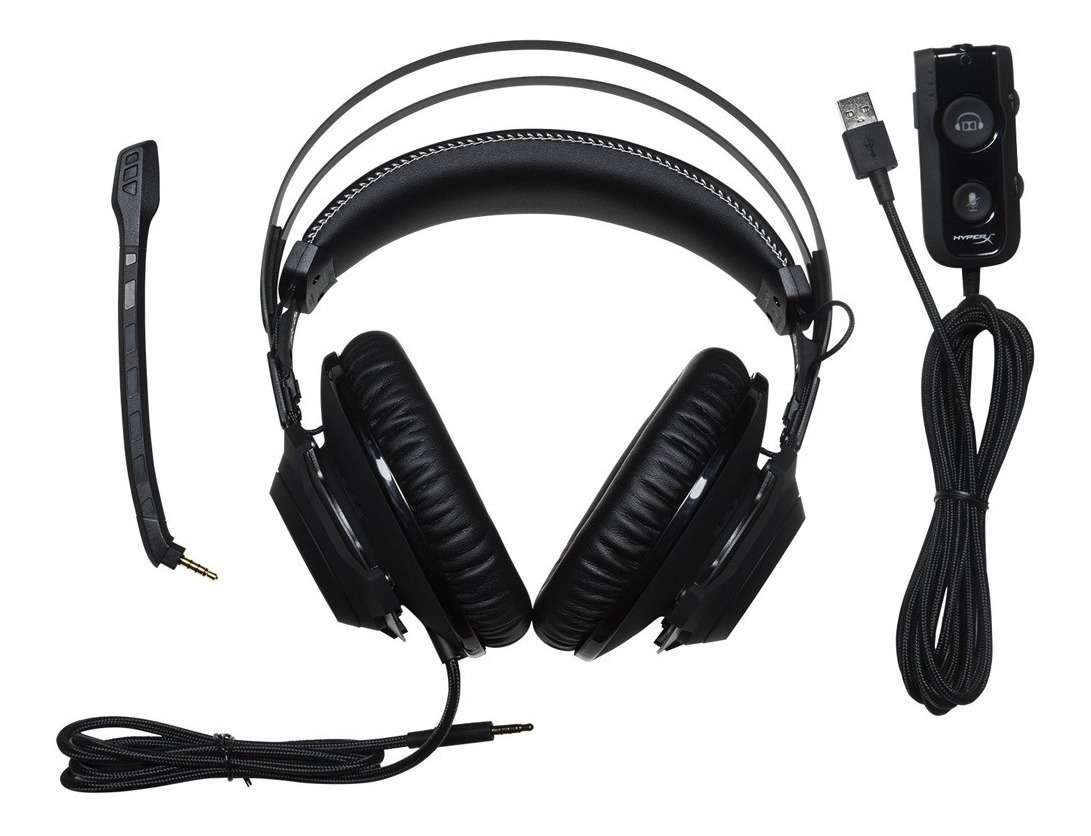 Auriculares Headset Gamer Hyperx Cloud Revolver S Surround 7.1 Pc Ps4 Gtia Oficial