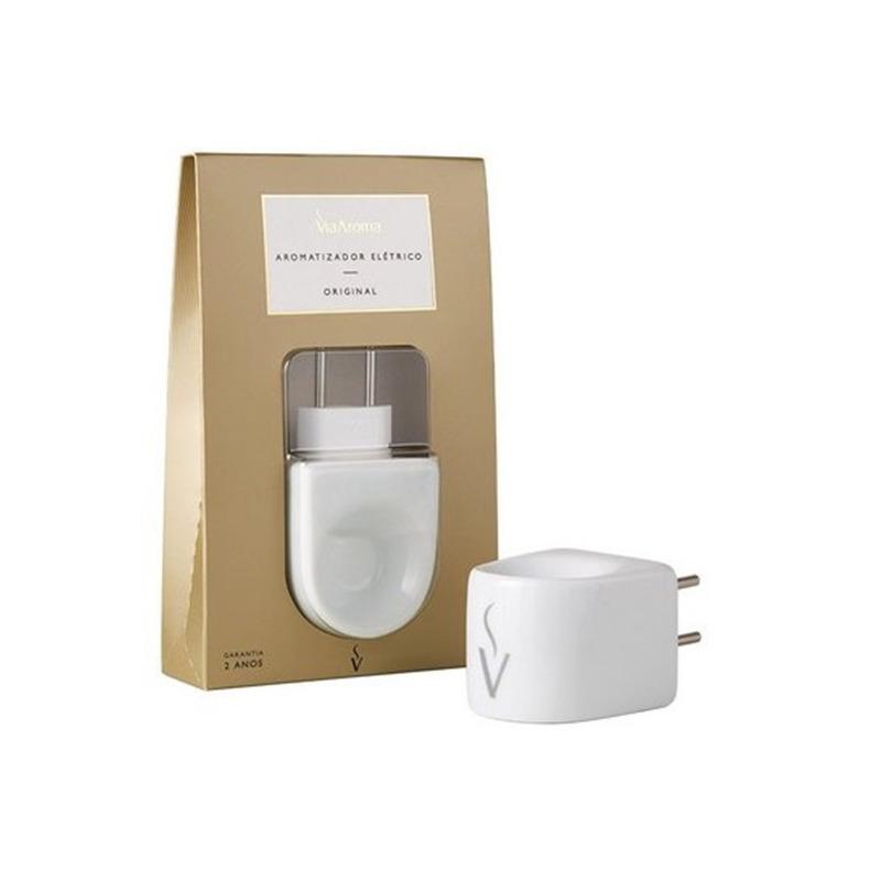 Kit 10 Essências Mundo com Aromatizador Porcelana Via Aroma