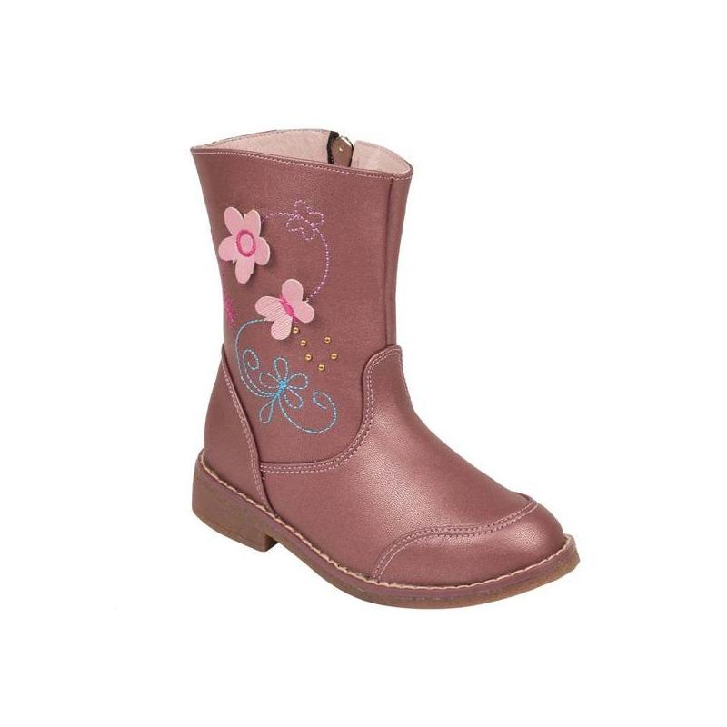 Bota rosa bordada 018592