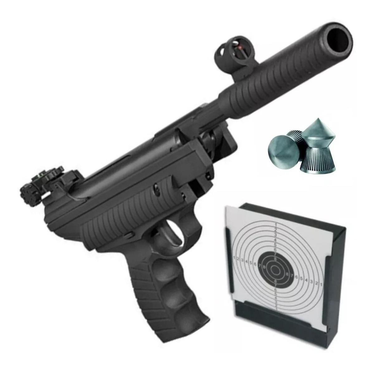Pistola Aire Comprimido Hatsan 25 Potenciada 4 5 5 5 Mm Swat