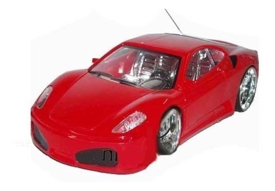 Auto Radio Control Ferrari Tuneado Luces En Ruedas Y Chasis