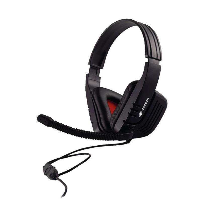 HEADSET GAME C3TECH MI-2558RB PREDATOR
