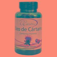 Oleo de Cartamo com Vitamina E - 60 Caps./1000mg - DiCastro