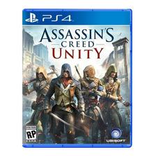 Assassins Creed Unity Ps4 Fisico Sellado Nuevo Original