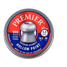 Balines Crosman Premier Hollow Point Hueca X500 - Aire Y Co2