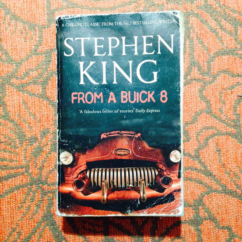 Stephen King.  FROM A BUICK 8.