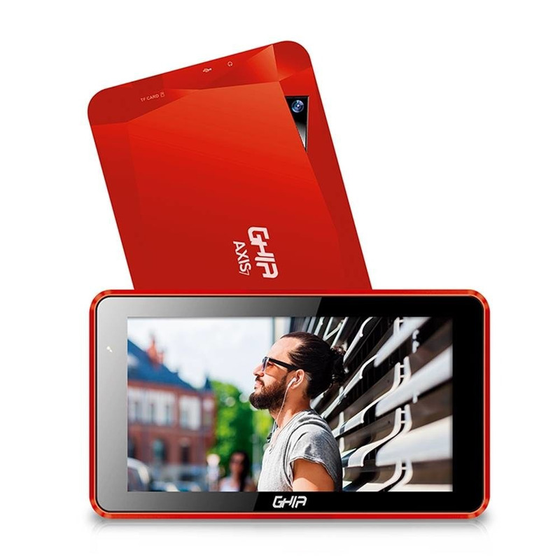 Tablet Ghia Axis7 Wifi T7718R Android 7 8Gb Roja