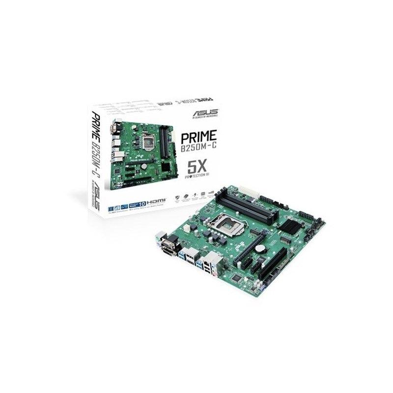 Motherboard Asus Prime B250m-C/Csm