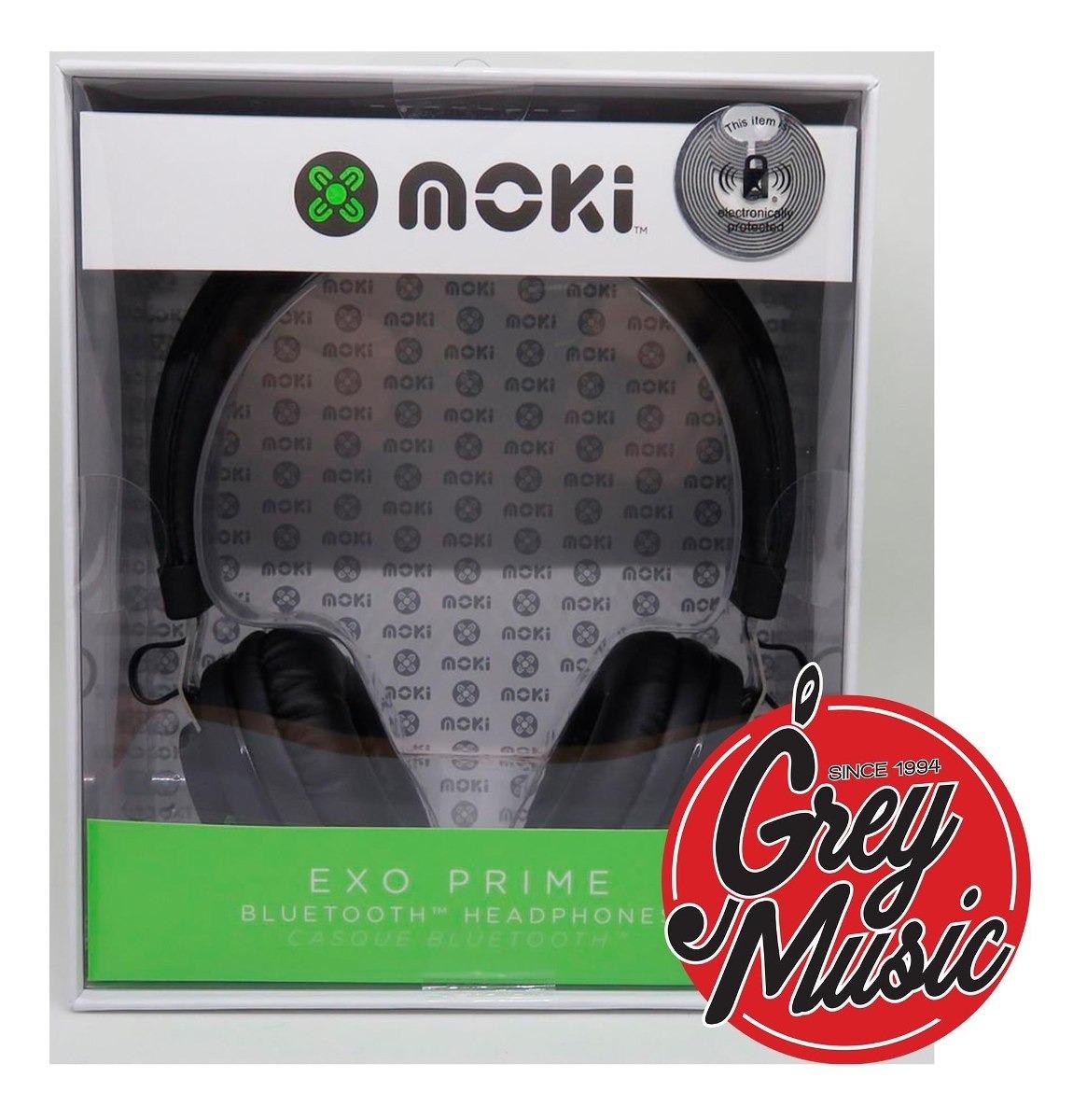 Auricular Moki Acc Hpexpri Exo Prime Bluetooth - Black Negro
