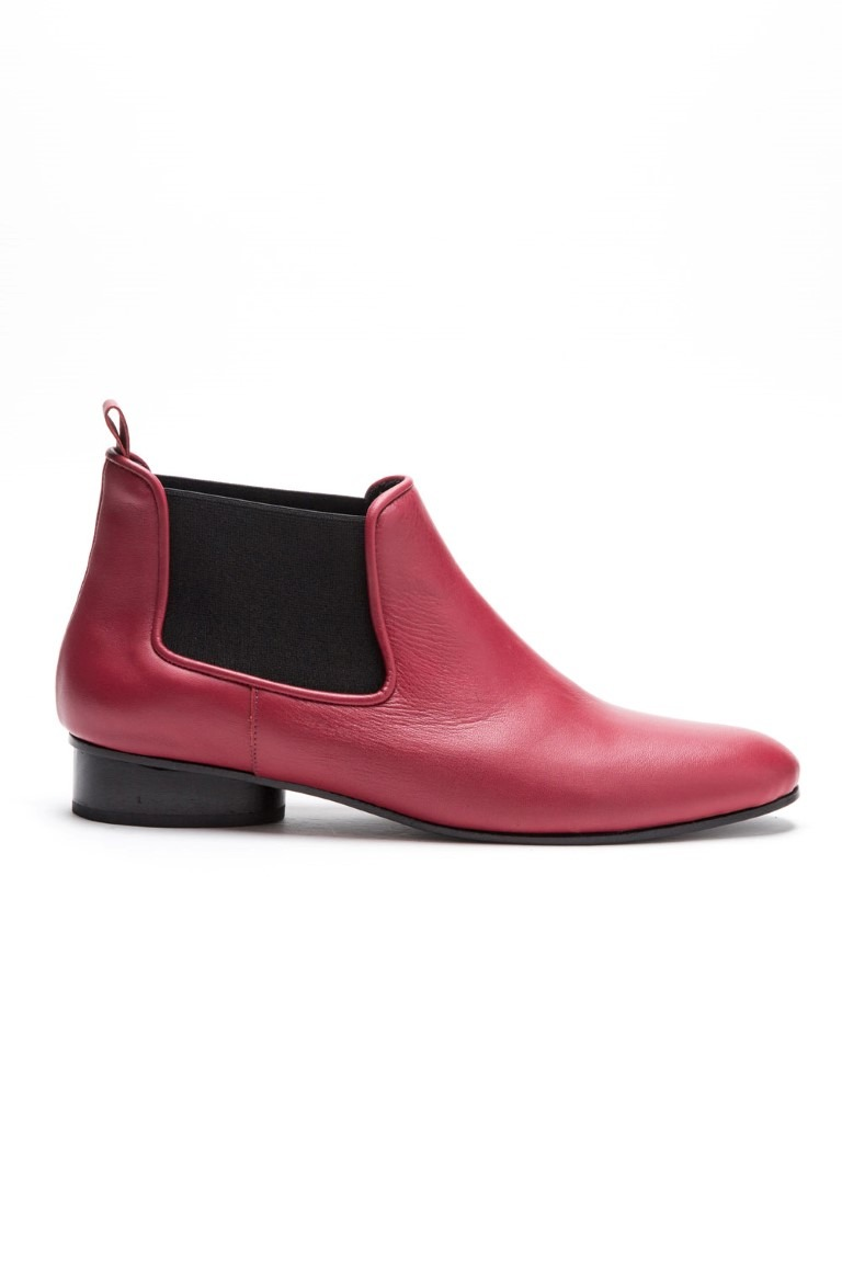 Bota Margot rojo