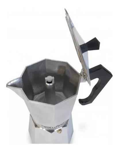 Cafetera Tipo Italiana Volturno 6 Pocillos Clasica Express