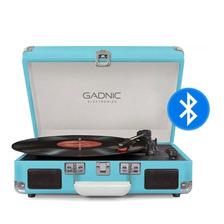 Tocadisco Vintage Bluetooth Disco De Pasta Tocadiscos Vinilo