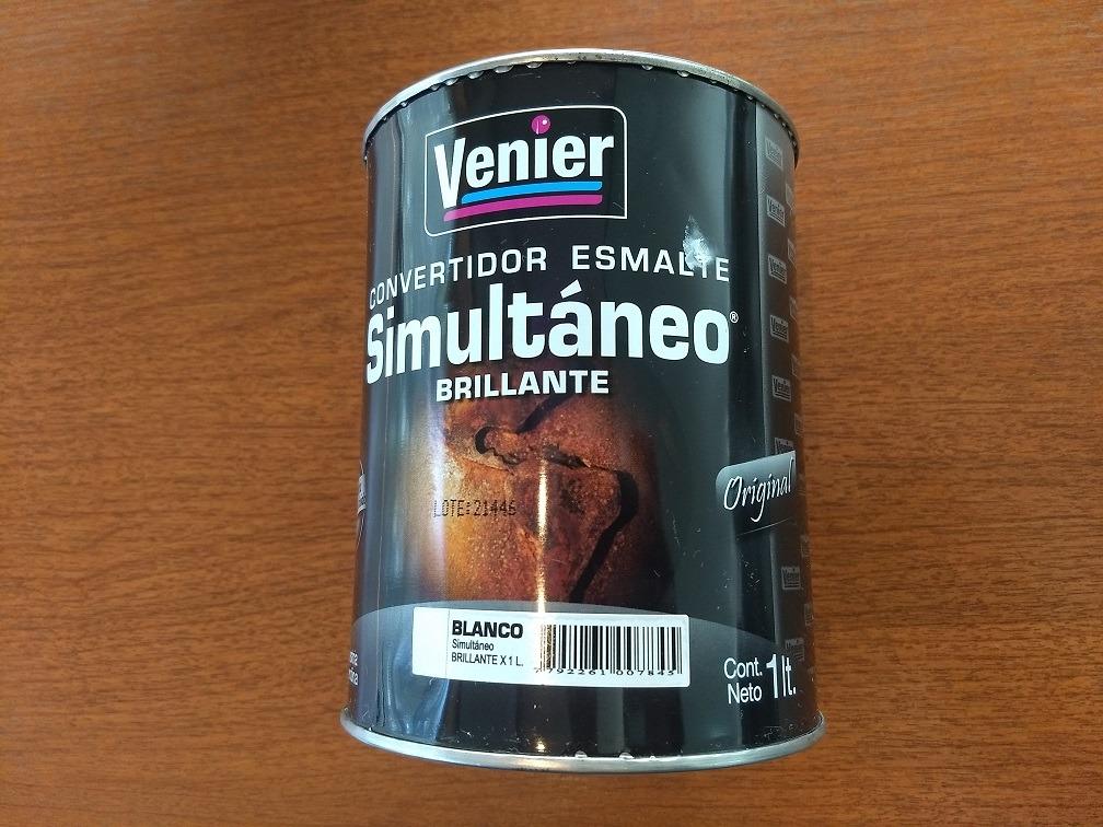 PINTURA VENIER SIMULTANEO CONVERTIDOR BRILLANTE