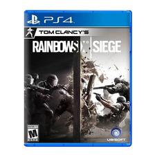 Rainbow Six Siege Ps4 Fisico Sellado Nuevo Original