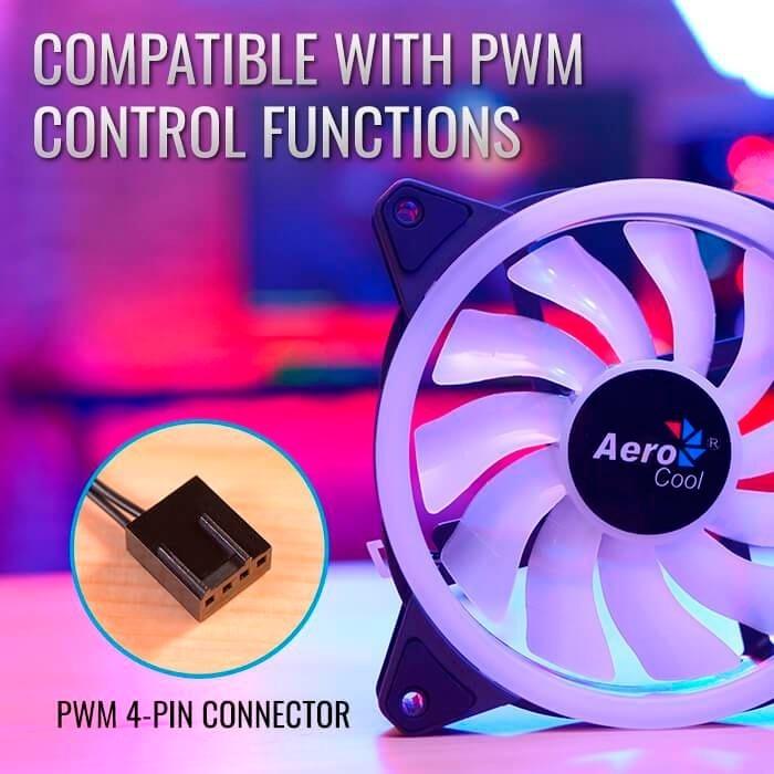 Cooler Fan Aerocool Duo 12 Argb 120mm