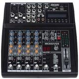 Moon Mc-602usb Consola De 6 Canales Con Usb
