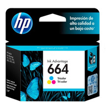 Cartucho Hp 664 Color Original P/ 2135 3775 3785