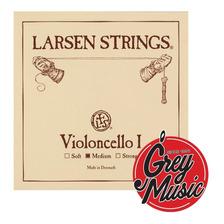 Cuerda Suelta Larsen Medium Re D De Cello 4/4 - Grey Music