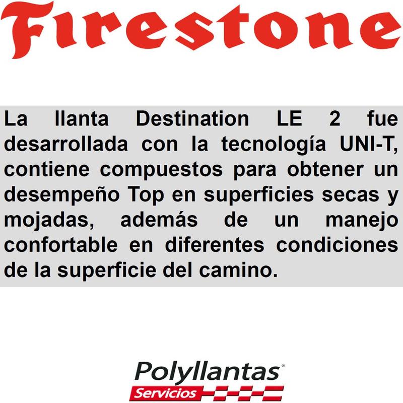 225-60 R17 99T Destination Le 2 Firestone