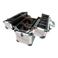 Maletin De Aluminio P/ Herramientas Con Fuelle Crossmaster