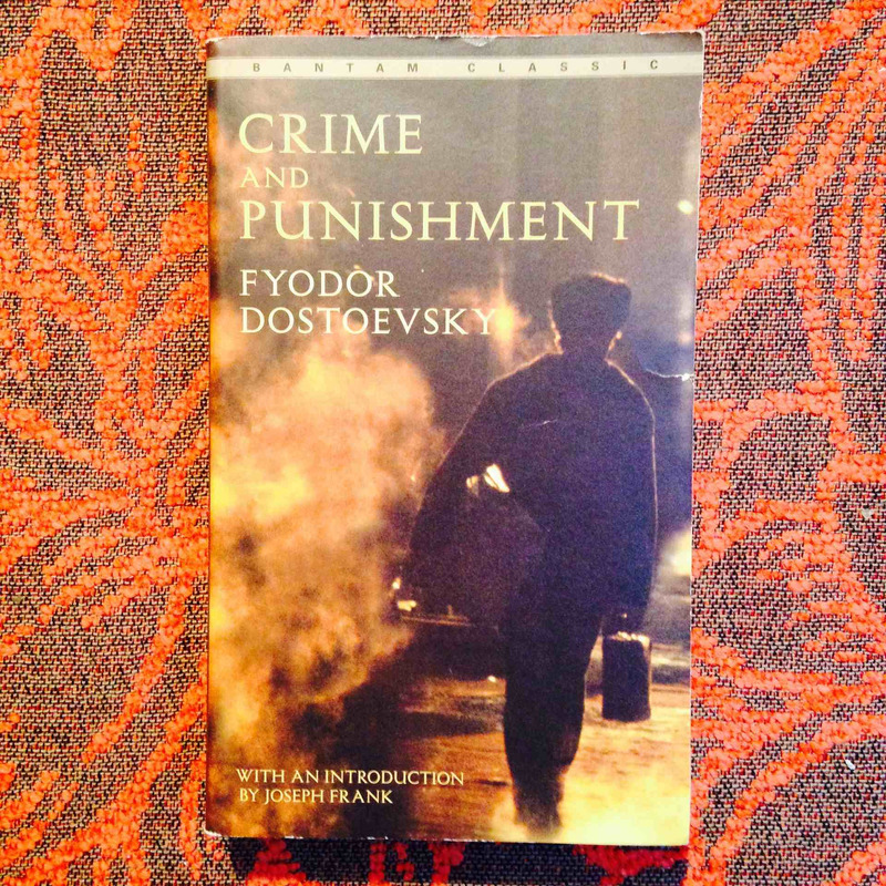 Fyodor Dostoevsky.  CRIME AND PUNISHMENT.