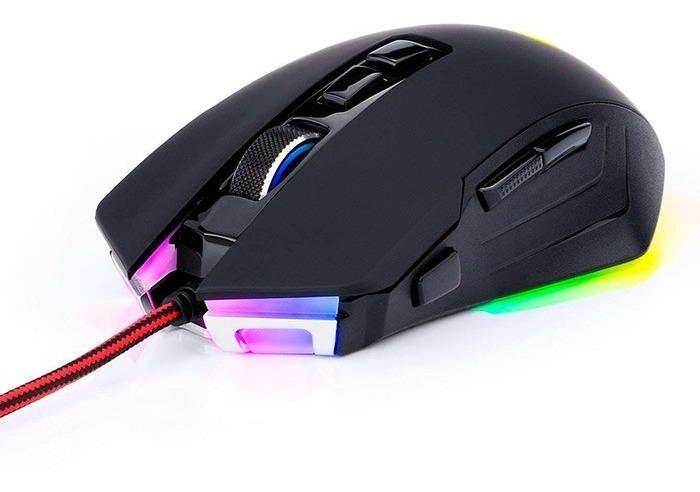 Mouse Gamer Redragon Dagger M715 Led Rgb 10000dpi
