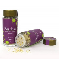 Flor de Sal com Alho e Limao - 65g - Cimsal