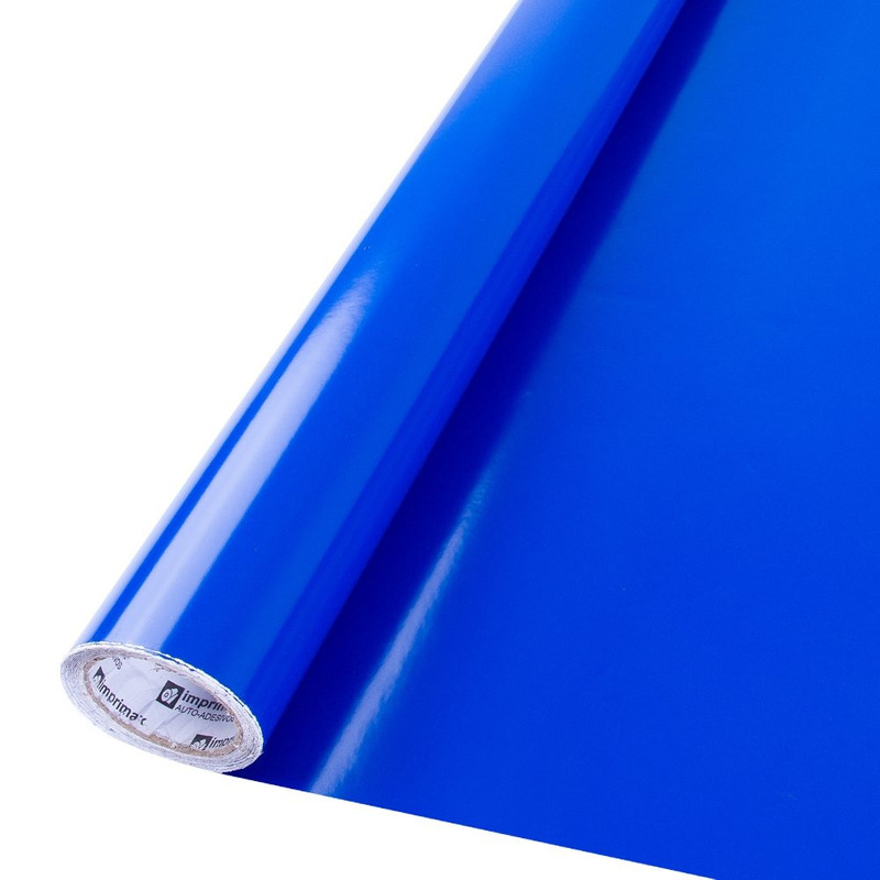Vinil adesivo Goldmax azul rivieira larg. 1,22 m