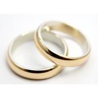 183d7070f8bb Par Alianzas Italianas Plata 925 Oro18k. 2gr Casamiento Gtia