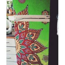 Vinilos Decorativos Mandalas Para Puertas  Heladeras Paredes