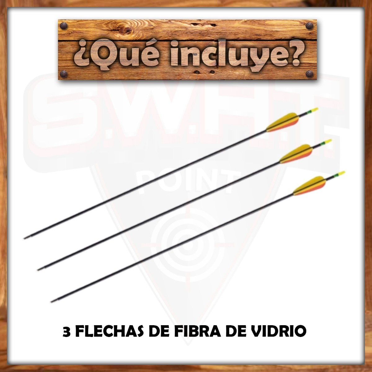 Arco Recurvo Profesional Prana Td4 Olímpico 3 Flechas Fibra
