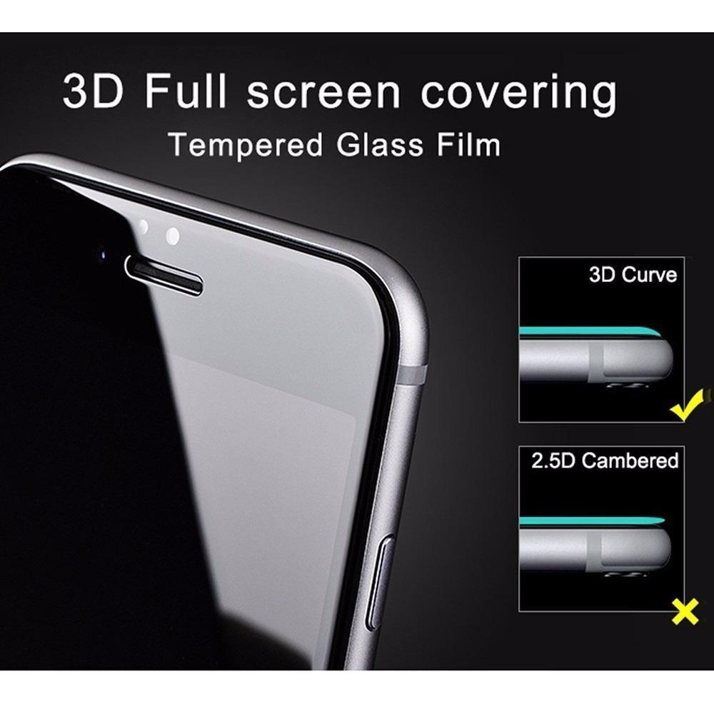4978f99b81f Glass Vidrio Templado Curvo 5d iPhone 6s 7 8 Plus Xr Xs Max | Tienda ...
