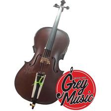 Cello Stradella 6015 Tapa Maciza 4/4 Con Funda Y Arco
