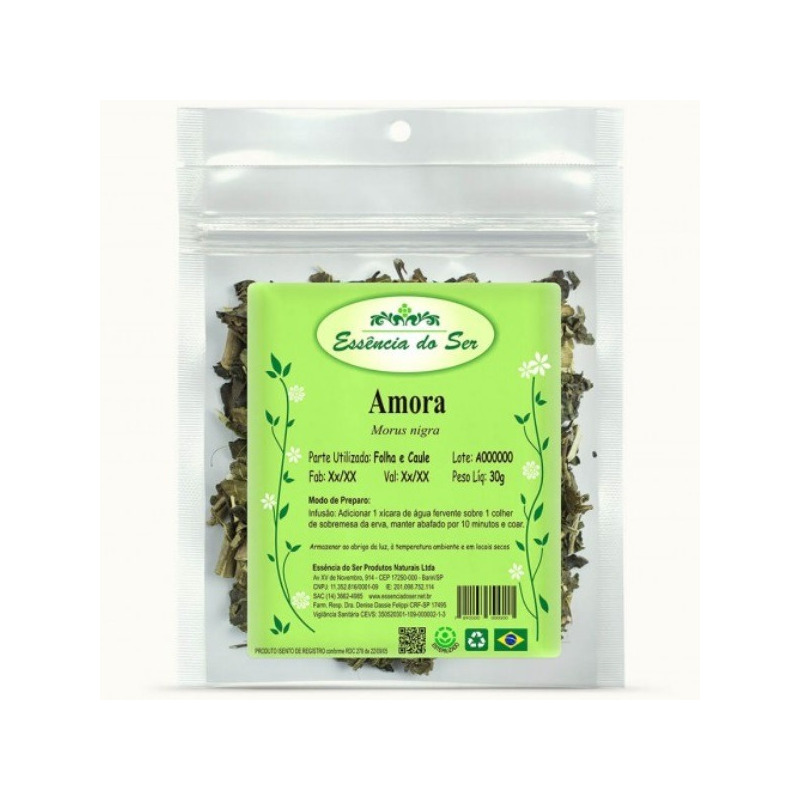 Cha de Amora - Kit 2 x 30g - Essencia do Ser