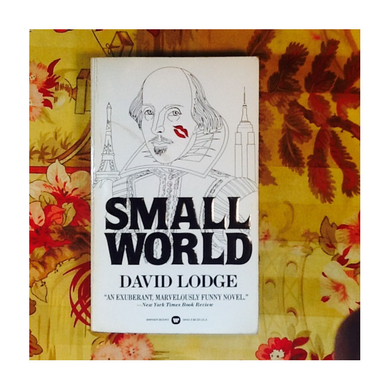 David Lodge.  SMALL WORLD.