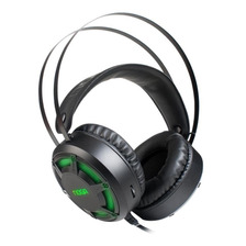 Auricular Gamer Con Microfono Con Adaptador Consola Ps4 Pc