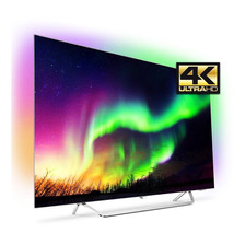 Smart Tv 4k Oled 55 Pulgadas Philips 55oled873/77 Uhd Ambilight Android Dts Netflix Youtube Gtia Oficial