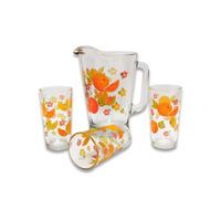 Juego de agua naranjas 7 piezas 3500610