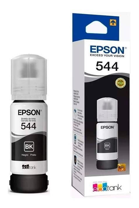 Tinta Epson T544 Original 65ml - Negro