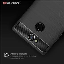 Funda Tpu Simil Carbono Sony Xa1 Xa2 Plus Ultra + Envio
