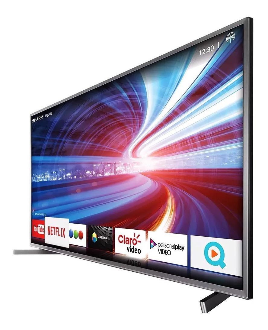 Smart Tv Led 4k 55 Pulg Uhd Sharp Hdmi Tda Usb Wifi Oficial