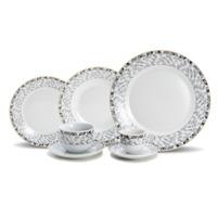 Jogo de Jantar em Porcelana 42 Peças Sorrento - Wolff 31017105