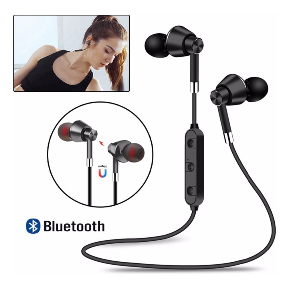 Auriculares Bluetooth M7 Sports Magneticos Running