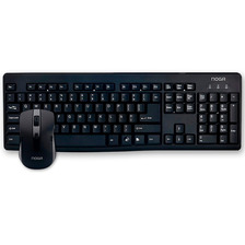 Kit Teclado Y Mouse Inalambrico Multimedia Nkb-c32 Noga