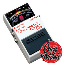 Pedal Boss Tu3 Afinador Cromatico Guitar/bajo - Grey Music -