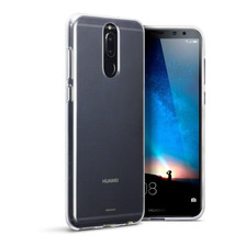 Funda Tpu Ultra Slim P/ Huawei Mate 10 Lite + Glass 3d Curvo