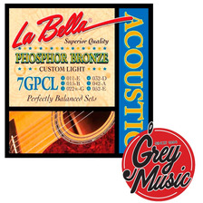 Encordado Guitara Acustica La Bella 7gpt 010 - Grey Music -